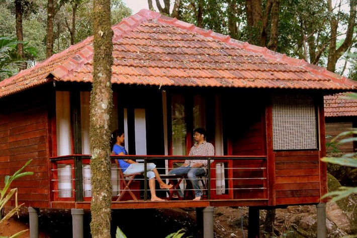 Wooden House in Laternstay Resort