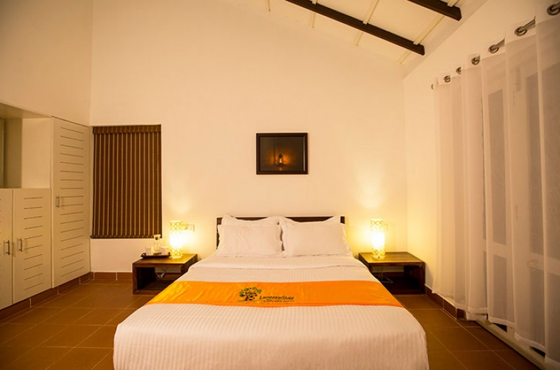 Bedroom in Laternstay Resort in Wayand