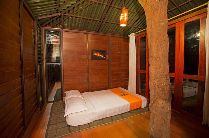 Wooden House in Laternstay Resort Wayanad, Kerala