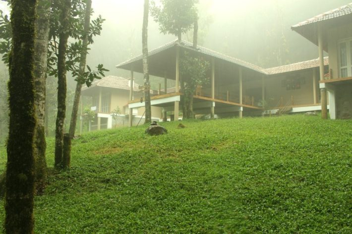 Wooden cottege-laternstay resort wayanad